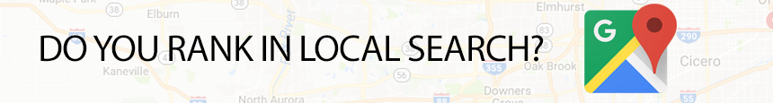 Do you rank in local search?