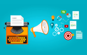 typewriter and content marketing methods